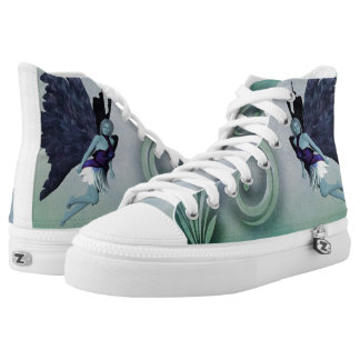 Fairy fantasy printed shoes