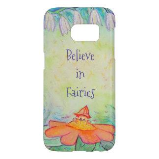 Fairy Flower Garden Samsung S7 Cell Phone Case