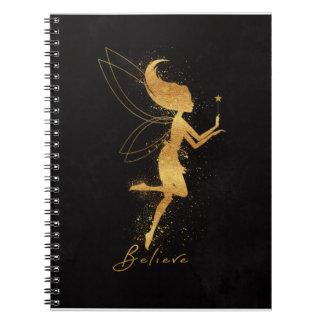 Fairy Foil Art Notebook