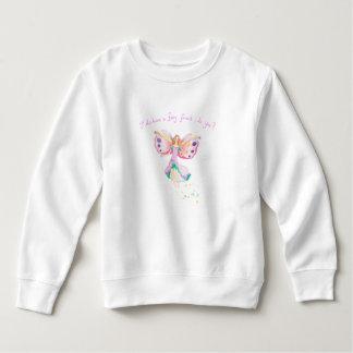 """Fairy Friend"" Toddler Fleece Sweatshirt"