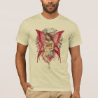 Fairy Friends and cat T shirt by Meredith Dillman