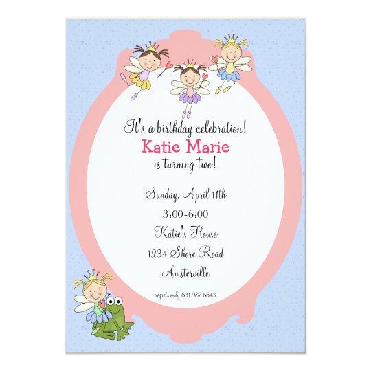 Fairy Friends Invitation