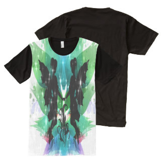 Fairy Frolic All-Over Print T-Shirt