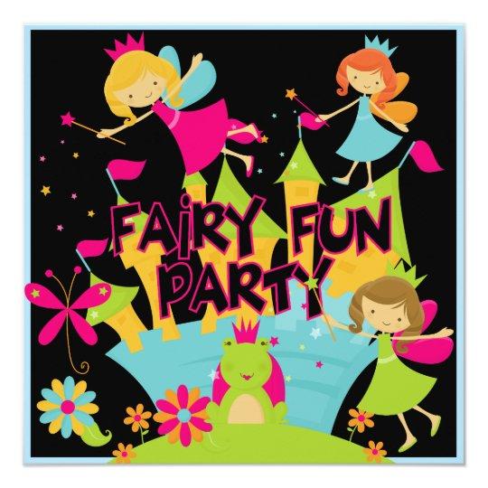 Fairy Fun Customised Birthday Invitations