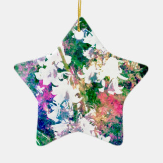 Fairy Garden Ceramic Star Decoration