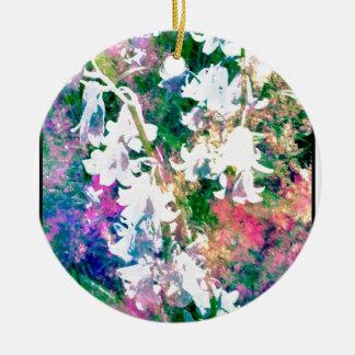 Fairy Garden Round Ceramic Decoration