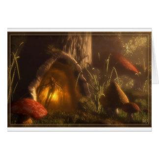 Fairy Gate Greeting Card