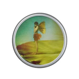 Fairy Girl on Lilypad Speaker