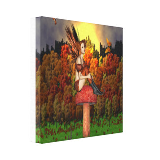 Fairy Glade - Wrapped Canvas