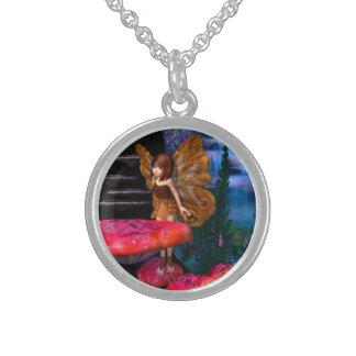 Fairy Glen Round Pendant Necklace