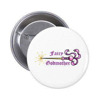 FAIRY GODMOTHER 6 CM ROUND BADGE
