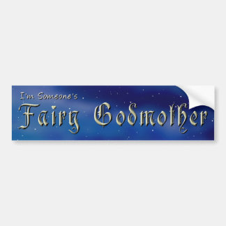 Fairy Godmother Bumper Sticker