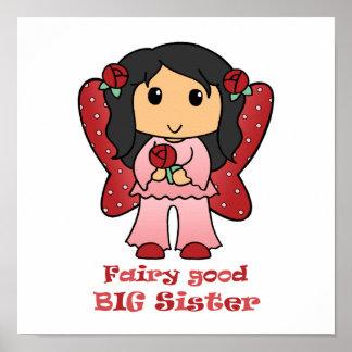 Fairy Good Big Sister Print