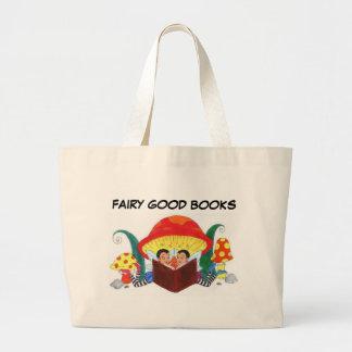FAIRY GOOD BOOKS LARGE TOTE BAG