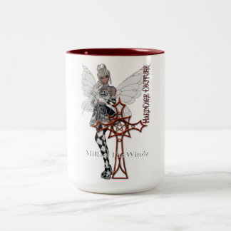 fairy goth cross coffee mugs