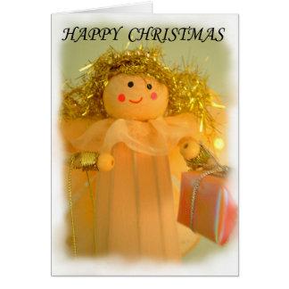 Fairy, Happy Christmas Card,