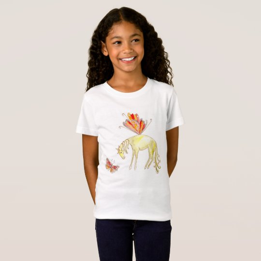 Fairy horse and butterfly T-Shirt