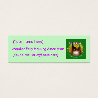 Fairy Housing Association Profile Card