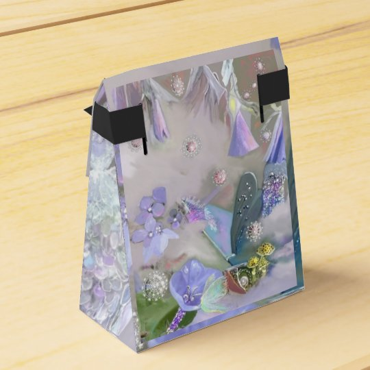 Fairy in her small world favour box