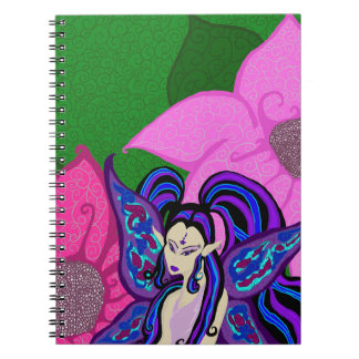 Fairy In The Flowers Notebook