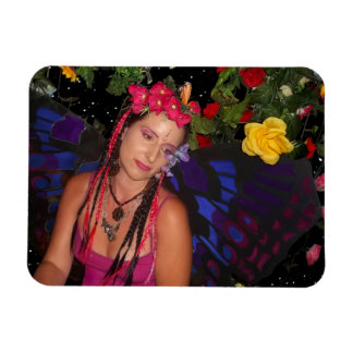 Fairy In The Garden Magnet