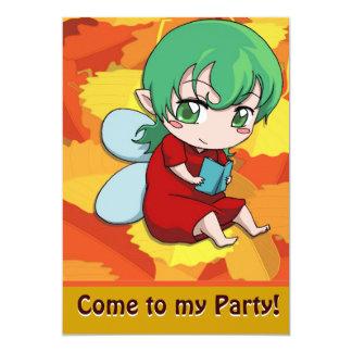 Fairy Invitation - I love reading