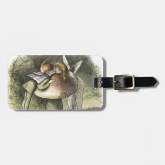 Fairy Kiss In Fairyland 1870 Luggage Tag