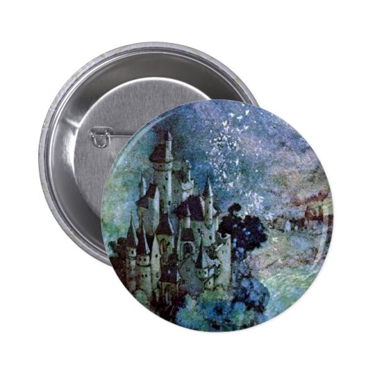 Fairy Land Castle Button