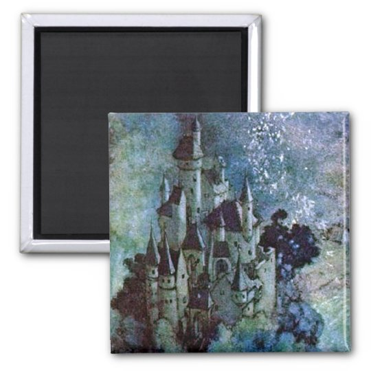 Fairy Land Castle by Edmund Dulac Magnet