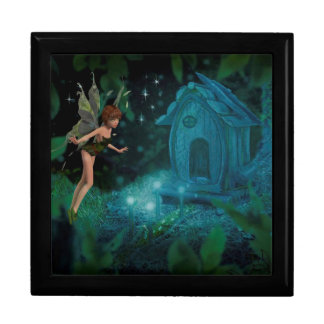 Fairy Large Square Gift Box