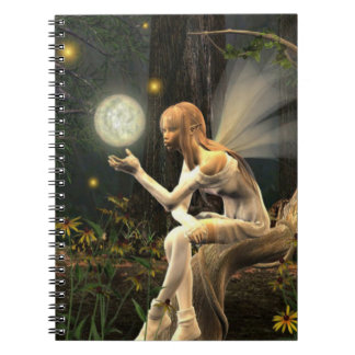 fairy light ball notebook