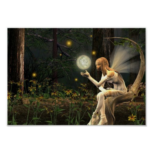 Fairy Light Ball Poster