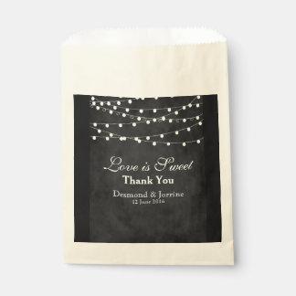 Fairy Lights & Hearts Favor Bag Favour Bags