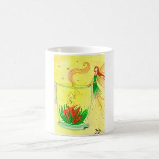 Fairy Lily Basic White Mug