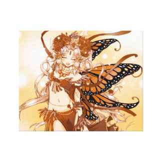 Fairy Love Canvas Stretched Canvas Print
