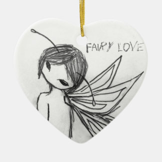 """Fairy Love"" Ornament"
