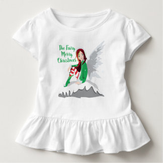 Fairy Merry Toddler Ruffle Tee