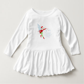 Fairy Merry Wand Merry Toddler Ruffle Dress