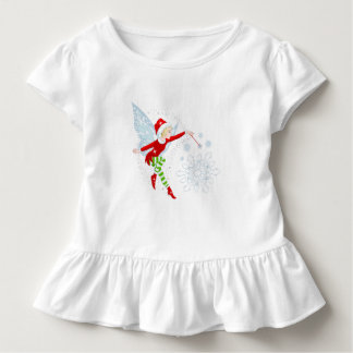 Fairy Merry Wand Toddler Ruffle Tee