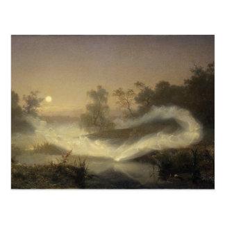 Fairy Mist in Moonlight Postcard