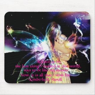 Fairy mom mousepad