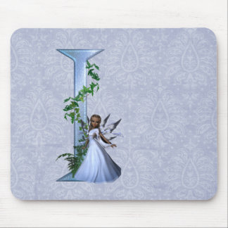 Fairy Monogram I Mouse Pad