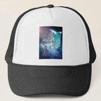 fairy moon trucker hat