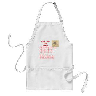 fairy name apron