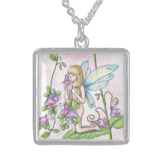 "Fairy Necklace ""Sweet Pea"""