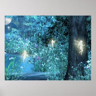 Fairy night Poster