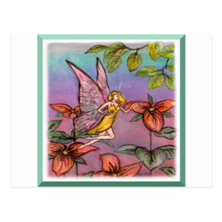 fairy of the birch postcard