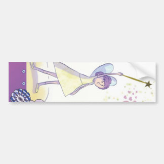 fairy of the hearts bumper stickers