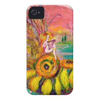 FAIRY OF THE SUNFLOWERS iPhone 4 Case-Mate CASE