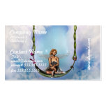 Fairy on a Swing Business Cards